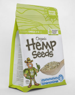 Organic Hemp Seeds 8 oz