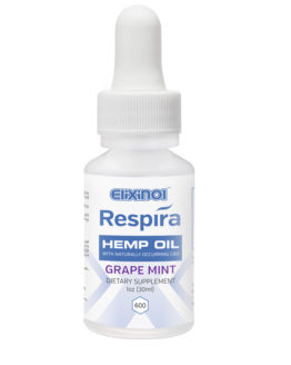 CBD Oil Respira Vape 600mg Grape-Mint flavor