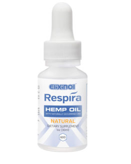 CBD Oil Respira Vape 600mg Natural Flavor