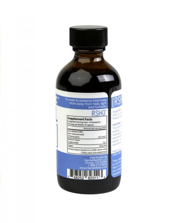 Blue Label Liquid 2oz Decarbox