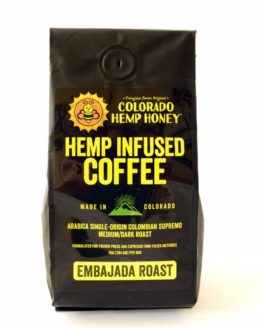 Honey Hemp Infused Coffee